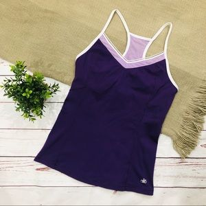 ALO YOGA cool fit racerback tank M